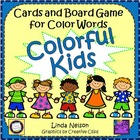 Colorful Kids! Cards and Board Game for Color Words