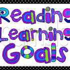 Colorful Learning Goals Posters