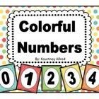 Colorful Number Charts with Ten Frames