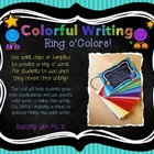 Colorful Writing Ring o' Colors Freebie!: Grow your writin