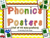 Phonics Fun! {Colorful Poster Set to Learn Tricky Phonic Sounds}