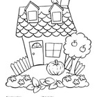 Coloring Activity: House / La casa