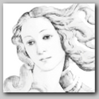 Coloring Book Based On Monet Raphael Botticelli Art