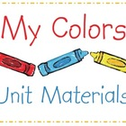 Colors Unit Pre-K & Kinder