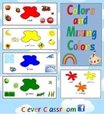 Colors and Mixing Colors Posters - 9 pages
