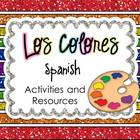 Colors in Spanish Fun Activity and Resource Packet
