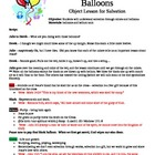 Colors of Faith Balloon - Salvation Object Lesson