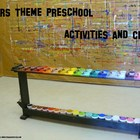 Colors theme preschool activities and crafts