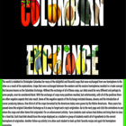 Columbian Exchange - Bill Burton