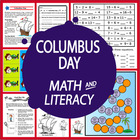 Columbus Day Unit-Common Core Standards