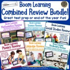 Combined Review-Word Work, Math, Science and Social Studie