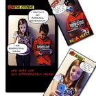 Comic Style Digital Citizenship Poster