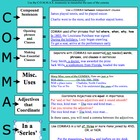 Comma Rules Study Tool