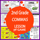 Commas-Second Grade Common Core Lesson