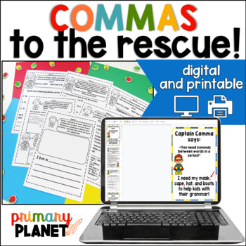 Commas to the Rescue! Comma usage unit