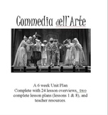 Commedia dell Arte: 24 Lesson Drama Unit