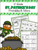 Common Core 1st Grade St. Patrick's Day Unit
