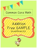 Common Core - Addition Unit {Free SAMPLE}