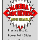 Common Core Algebra 1/Integrated 1 Practice Test 1 and Pow