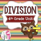 Common Core Aligned 4th Grade Division OWL Unit