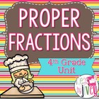 Common Core Aligned 4th Grade Fractions Unit 1