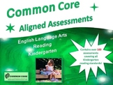 Common Core Aligned Assessment Bank ELA - Reading Kindergarten