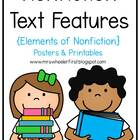 Common Core Aligned Nonfiction Notebook: Exploring Text Features