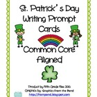 Common Core Aligned St. Patrick's Day Writing Prompts