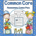 3rd Grade Common Core Assessment Combo Bundle