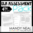 Common Core Assessment Pack-ELA Grade 4
