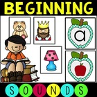 Common Core Beginning Sounds, Phonemic Segmentation and CV