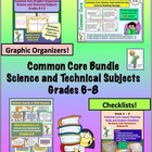 Common Core Bundle Grades 6-8 Science and Technical Subjects