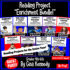 ENTIRE YEAR OF READING TEXT FEATURE ENRICHMENT PROJECTS!