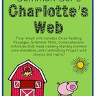 Common Core Charlotte's Web {Close Reading, Project Choice