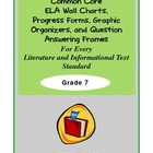 Common Core Charts, Organizers & Progress Forms For Every
