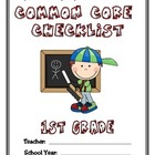 Common Core Checklist - 1st Grade - ELA