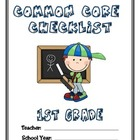 Common Core Checklist - 1st Grade - MATH