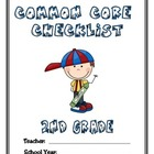 Common Core Checklist - 2nd Grade - MATH