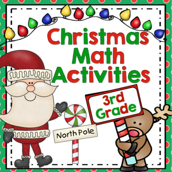 Christmas Math Games: 3rd Grade (Aligned to the Common Core)