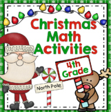 Christmas Math Games - 4th Grade (Common Core)