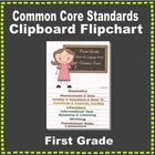 Common Core Clipboard Flipchart Resource (1st Grade)