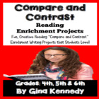Common Core Compare Contrast Differentiated Language Arts