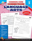 Common Core Connections Language Arts Grade 5 20% OFF! 104612