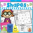 Kindergarten Common Core Geometry Super Activity pack 112 Pages