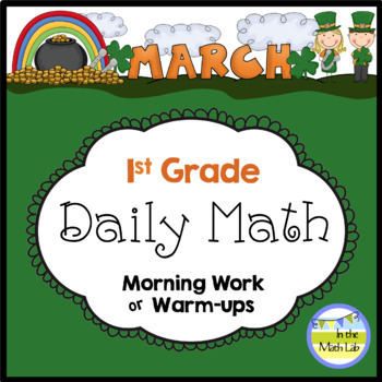 Common Core Daily Math for 1st Grade - March Edition