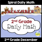 Common Core Daily Math for 2nd Grade - December Edition