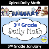 Common Core Daily Math for 3rd Grade - January Edition