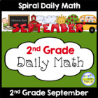 Common Core Daily Math for Second Grade - September Edition