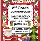 Common Core Daily Practice for Second Grade (December)