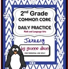 Common Core Daily Practice for Second Grade (January)